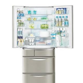 冷蔵庫 550L パナソニック2008年トップユニット N…