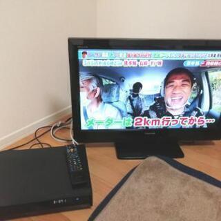 テレビ&ブルーレイレコーダー 15000円→12000円