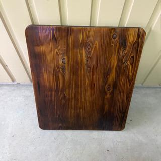 杉板天板 油性木製ニス塗り