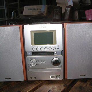 ソニーデッキコンポ CMT-M35WM CD,MD,テープ…