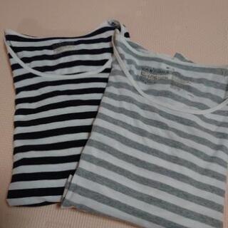 無印良品 M~L 授乳トップス 長袖2枚