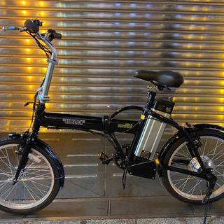 新品未使用 フル電動自転車 モペット 20インチ