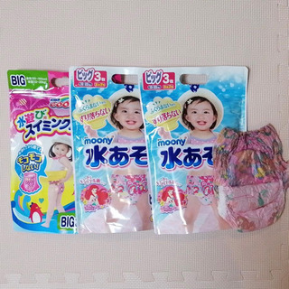 ★新品未開封あり★女の子用水あそびパンツまとめ売り10枚B…