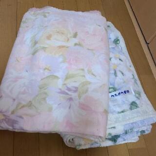 カネボウ毛布×2