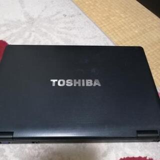TOSHIBA パソコンです。
