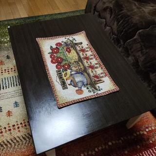 こたつテーブルですか普通にテーブルで使ってました(無料)