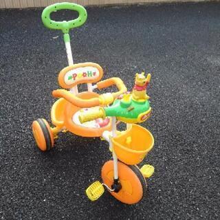 子供が使わなくなった三輪車