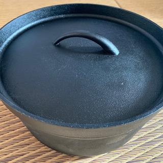 【ネット決済】◆極美品未使用◆ ダッチオーブン 箱説明書付