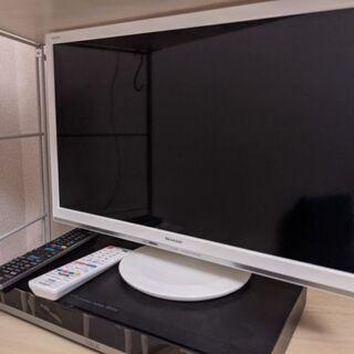 【取引中】24型テレビとレコーダーのセット!5月17日まで!