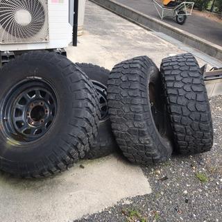 ランクルに付けてたタイヤ?の画像
