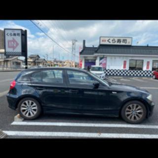 【ネット決済】BMW 1シリーズ116i 珍 ブラック低距離走行相談可