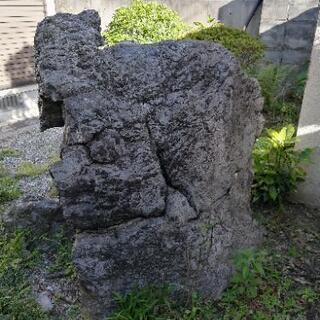 大きな庭石等