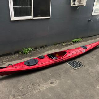 【ネット決済】シーカヤック  シングル艇 ポリ520cm 中古艇
