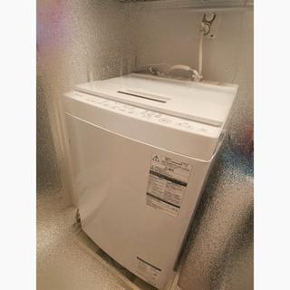 【値下げ!!!】縦型洗濯機 東芝 AW-7D6(W)【5月…