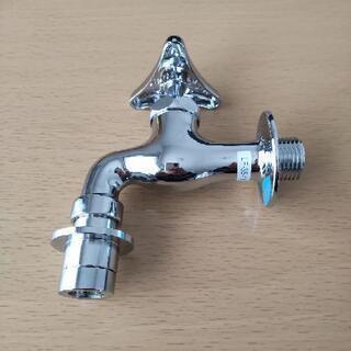 LIXIL 自動接手カップリング付横水栓 LF-35-13…