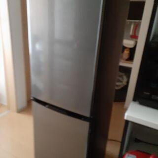 冷蔵庫2ドア アイリスオーヤマ KRSE-16A-BS 2…