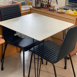 【ネット決済】ニトリ製 テーブルと椅子のセット