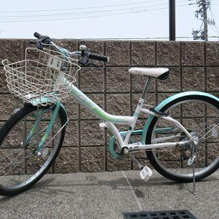 女児向け自転車(24インチ)2年間使用