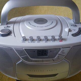 CD ラジオカセットレコーダー