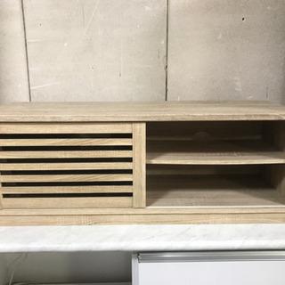テレビ台‼️美品✨スライド扉付き❗️綺麗でオシャレな木製品✨