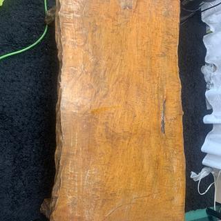 昭和レトロ 一枚板 テーブル 欅?楢? 80年前からあった物