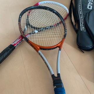 ソフトテニスラケット 2本セット