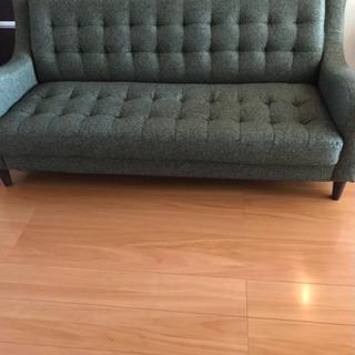 家具3点セット (新品ソファー、机×2点)