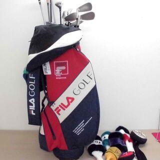 JM11006)ゴルフクラブ14本とキャディーバッグのセット 1...