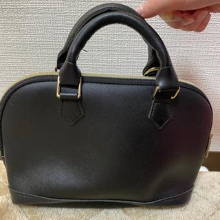 小さめハンドバッグ 黒