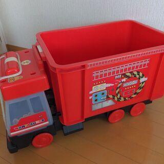 【ネット決済】車型収納 車おもちゃ入れ 子ども収納 車