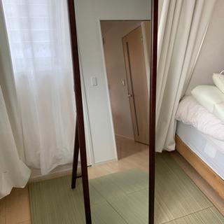 全身鏡 高さ1465-1500mm 幅450mm