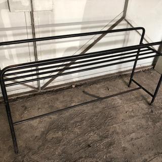 レトロ アンティーク 鉄脚長テーブルの脚のみ お好きな天板をどうぞ!