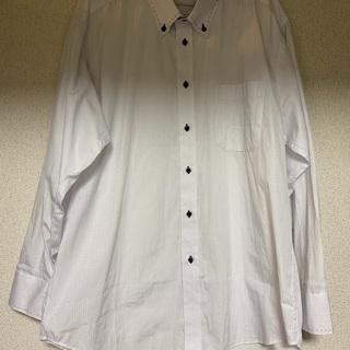 5枚セット メンズ ビジネスシャツ Yシャツ 長袖 3L