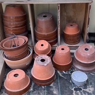 【全部で!!】駄温鉢〈駄鉢〉 陶器鉢 大型 国産植木鉢 常滑焼 ...