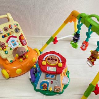 アンパンマンおもちゃ 3点(0〜1歳向け)
