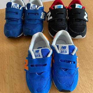 ニューバランス 子供靴15センチ15.5センチ
