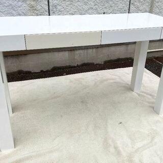 JM10321)♪引出し付きダイニングテーブル♪ カラー:…