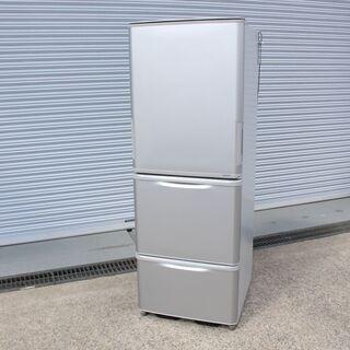 T945)SHARP ノンフロン冷凍冷蔵庫 SJ-W351D 3...