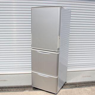 T946)SHARP ノンフロン冷凍冷蔵庫 SJ-WA35B 3...