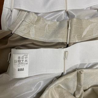 【ネット決済・配送可】ニトリカーテン 4枚組 遮光二級 遮熱 一...