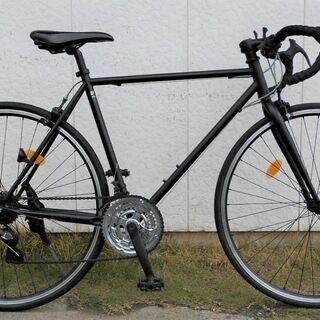 ロードバイク 700C 3X7 21段変速 クロモリフレーム
