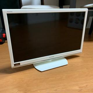 【早期引き取りで1,000円割引!】SHARP 24型テレビ