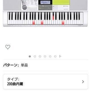 ほぼ新品電子ピアノCASIO/HIKARInavigati…