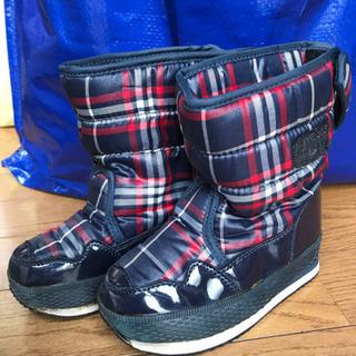 16cm 長靴 ブーツ 冬
