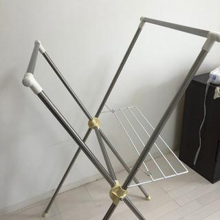 折りたたみ式ステンレス物干し竿