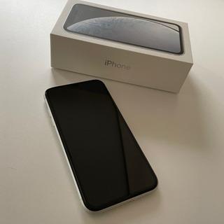 【最終値下げ】iPhone XR  ホワイト 128GB