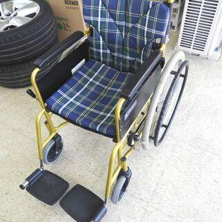 カワムラ 自走式車椅子 座幅約39cm 耐荷重100kg迄