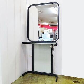 山口)下松市より 小野シャンブル アイリス片面鏡 ドレッサ…