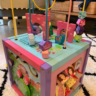 女の子おもちゃ 木のおもちゃ あげます