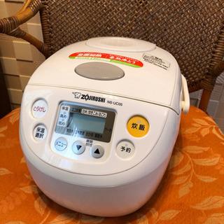 【象印】炊飯器 2013年製 NS-UC05型 3合炊
